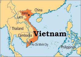 vietnam carte